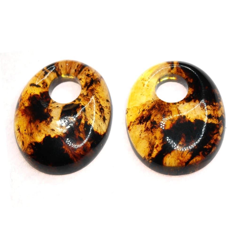 Ambre Mexique cabochon ovales percés 27x21.5mm 4.03gr_AMB_017_002