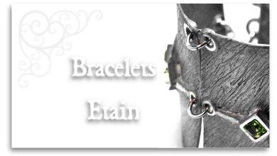 Bracelets en étain