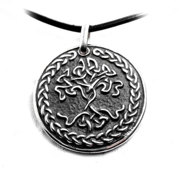 Pendentif arbre de vie celte argent